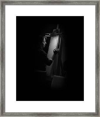 Theresa Marie Johnson, Painter Framed Print