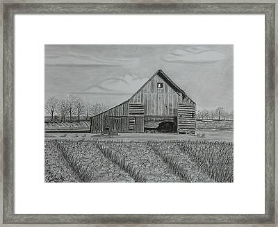 Theresa's Barn Framed Print