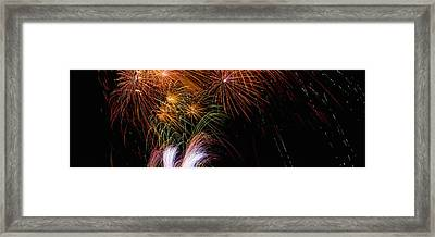 These Are Fireworks From Navy Pier. It Framed Print
