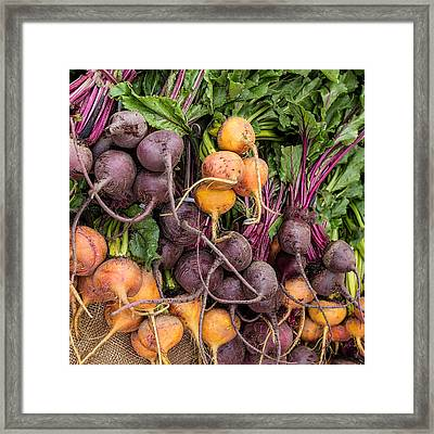 These Can't Be Beet Framed Print by Peter Tellone