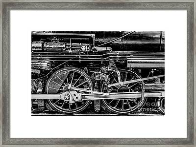 These Drive The Engine Framed Print