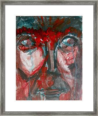 These Eyes Framed Print by Judith Redman