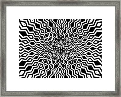 These Eyes Framed Print by Mitja Melansek