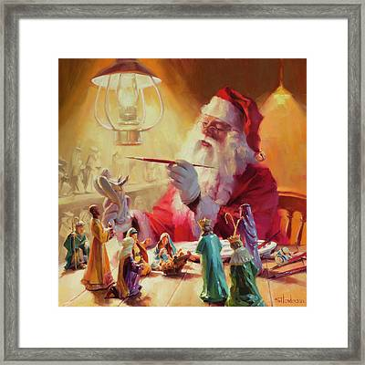 These Gifts Are Better Than Toys Framed Print