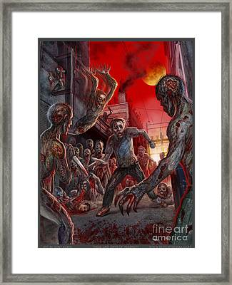 These Last Days Of Humanity  Framed Print by Tony Koehl