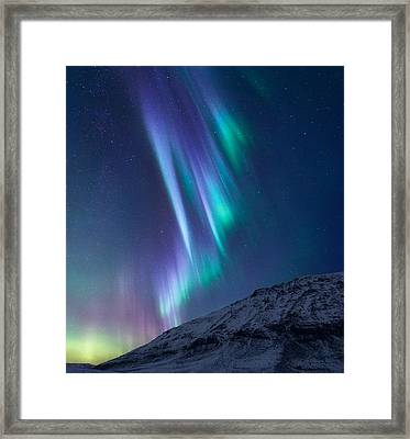 These Small Hours Framed Print by Tor-Ivar Naess