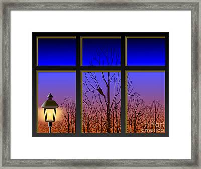 The Window II Framed Print