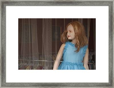 They Are Coming In The Fools Framed Print by Jez C Self