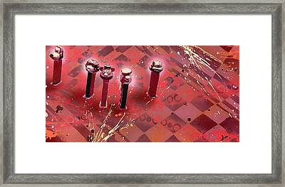 They Belong To Soul Framed Print by Tai Taeoalii
