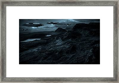 They Come In The Night By Raphael Terra Framed Print by Raphael Terra