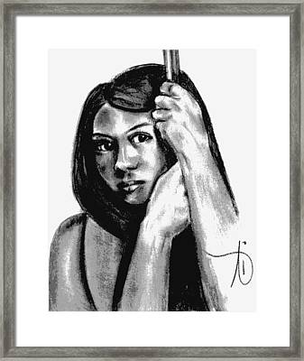 They Know Framed Print