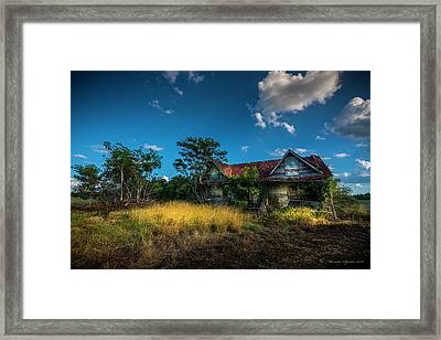 They Moved On Framed Print by Marvin Spates