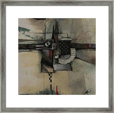 They Pushed By  Framed Print by Laura Lein-Svencner