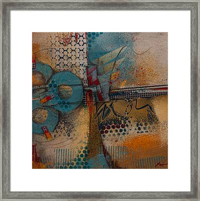 They Sipped Strong Coffee Framed Print
