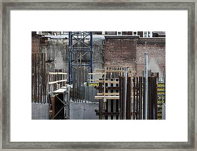 They Used To Play Folk Music Here Framed Print