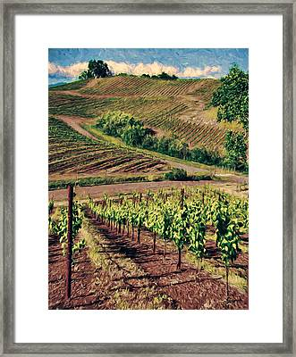 They Zig They Zag Framed Print by John K Woodruff