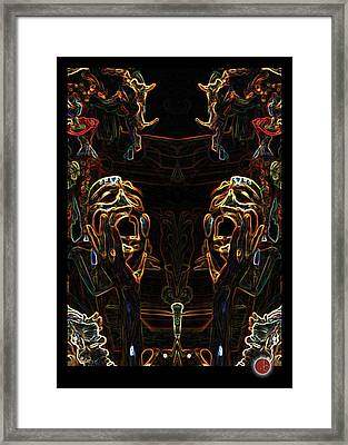 They're All Gonna Laugh At You... Framed Print by Vincent Lara