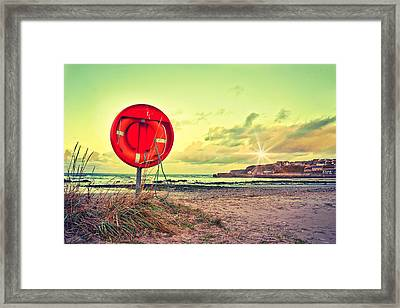 They've All Gone Home Framed Print by Tom Gowanlock