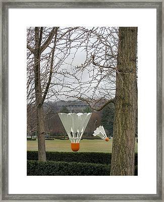 They've Landed Framed Print