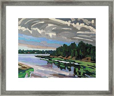 Thickening Cloud Framed Print by Phil Chadwick