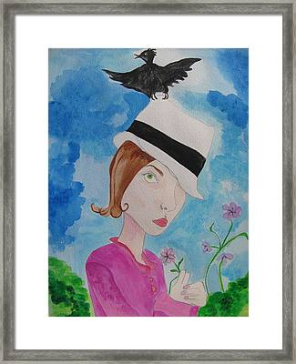 Thief Of Hats Framed Print