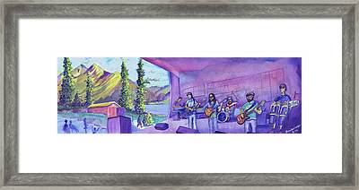 Thin Air At Dillon Amphitheater Framed Print by David Sockrider