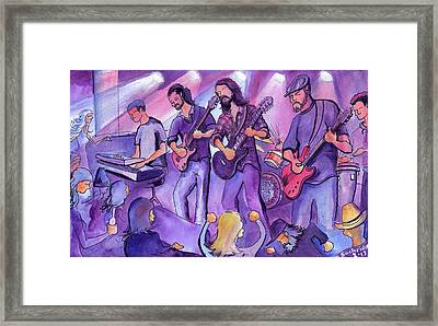 Thin Air At The Barkley Ballroom In Frisco, Colorado Framed Print by David Sockrider
