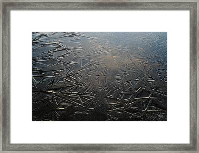 Thin Dusk    Framed Print