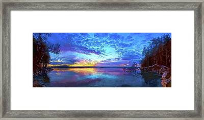 Thin Ice 2 Framed Print