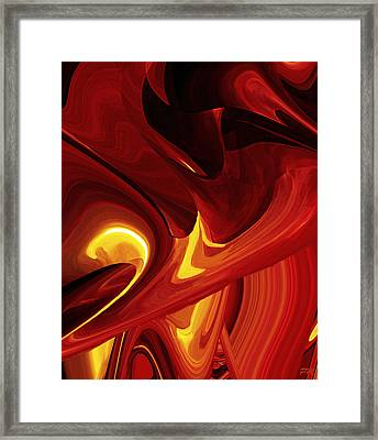 Thin Transparent Timeless Space Framed Print