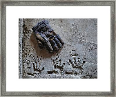 Framed Print featuring the photograph Things Left Behind by Susan Capuano