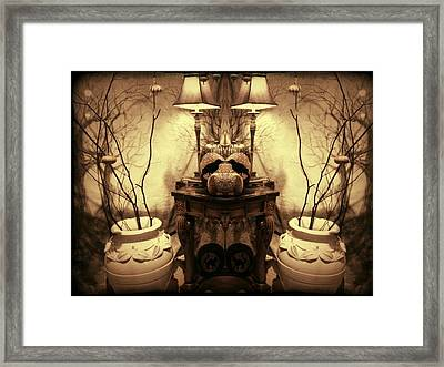 Things Of Which All Witches Dream Framed Print