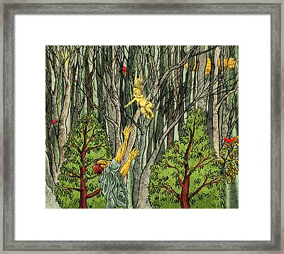 Things That Can Fly Framed Print by Baird Hoffmire