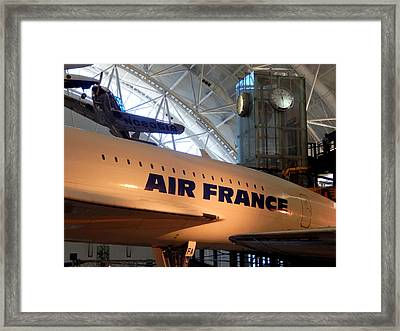 Things That Fly - 2 Framed Print by Arlane Crump