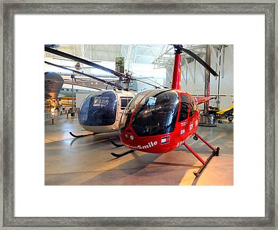 Things That Fly - 3 Framed Print by Arlane Crump