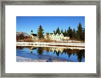 Thingvellir Iceland  Framed Print by Matthias Hauser