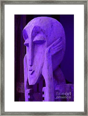 Think About It Framed Print by Debbi Granruth