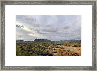 Think West Framed Print by Gordon Beck