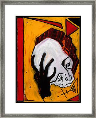 Thinker 40x30 Framed Print