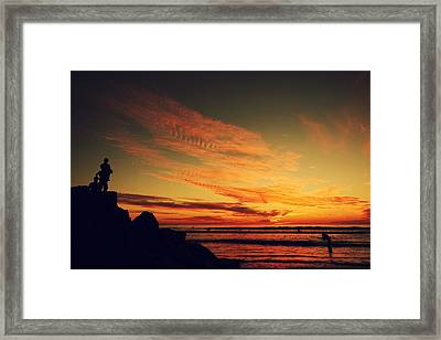 Thinking About Tomorrow Framed Print