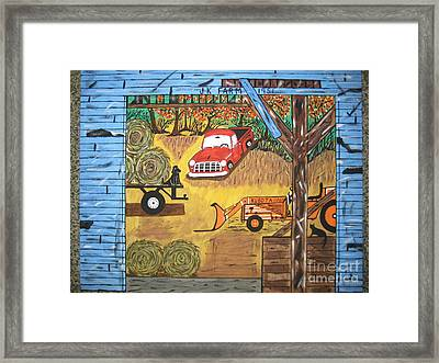 Framed Print featuring the painting Thinking About You by Jeffrey Koss