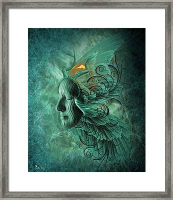Thinking Deep  Framed Print