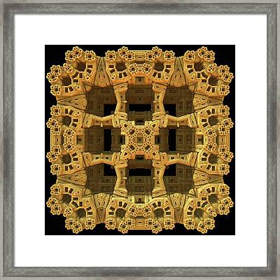 Thinking Inside The Box Framed Print by Lyle Hatch