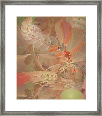 Thinking Of You Framed Print by Gayle Odsather