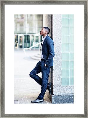 Thinking Outside Framed Print