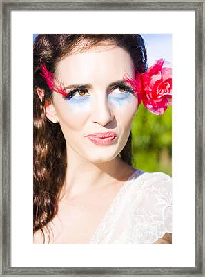 Thinking Romantic Thoughts Framed Print by Jorgo Photography - Wall Art Gallery
