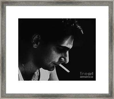 Thinking Things Through Framed Print by Joe Geraci