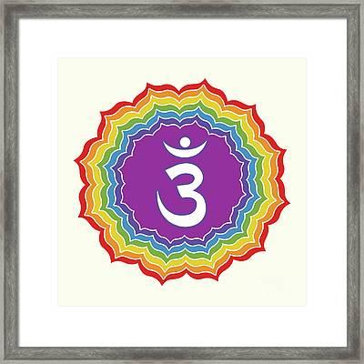 Third Eye Chakra Framed Print by Gaspar Avila