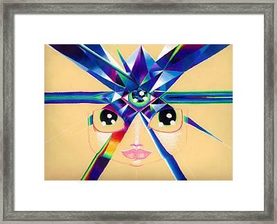 Third Eye Chakra Framed Print
