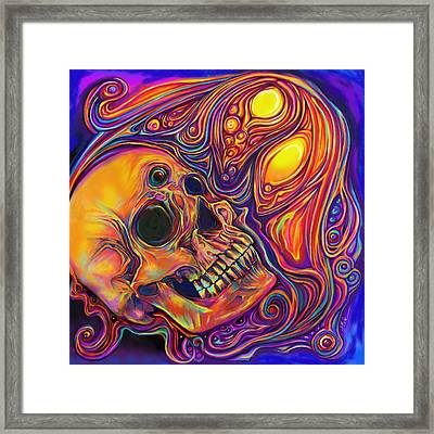 Third Eye Sunrise Framed Print